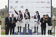 Good results in Chantilly