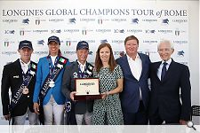 Luciana Diniz jumps to 2nd place at the LGCT-Grand Prix in Rome